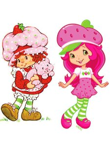 strawberry shortcake then and now